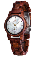 Tense Watches - Small Hampton in Rosewood