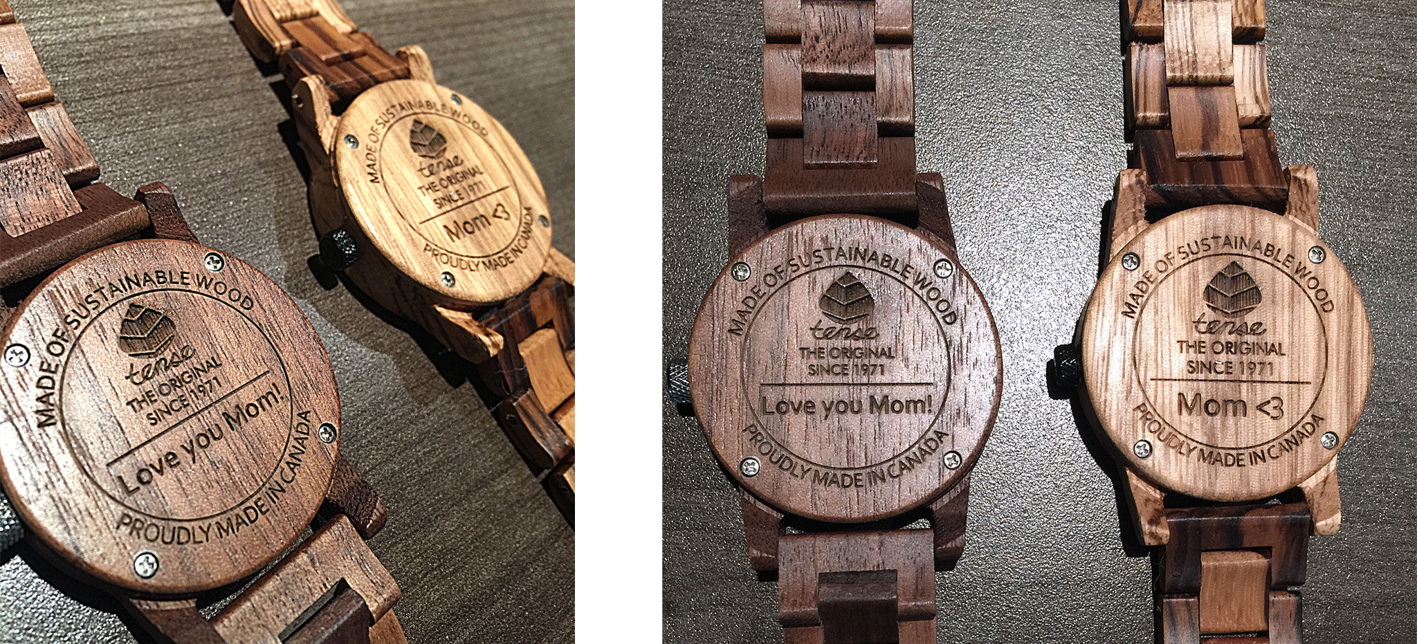 Tense Watches - Custom Engraved Watches For Mother's Day