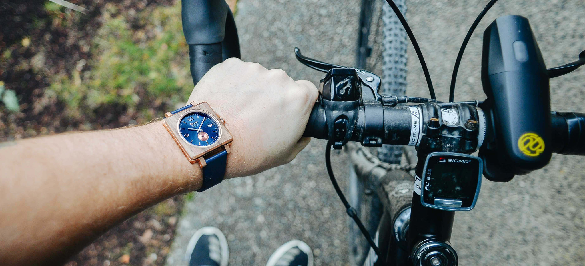 Tense Watches Vermont Leather Watch