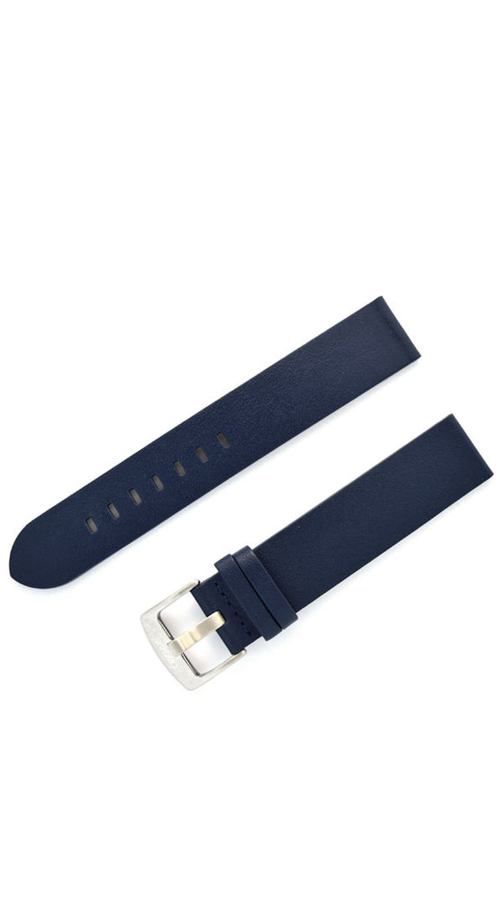 20 mm Extra Long Leather Watch Strap