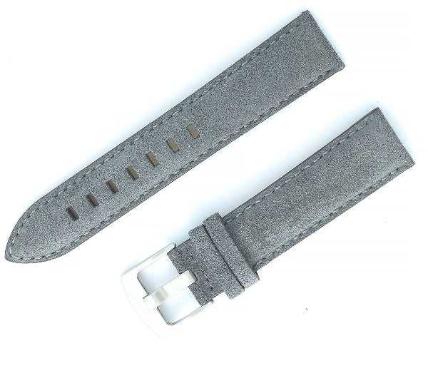 20 mm Suede Leather Watch Strap