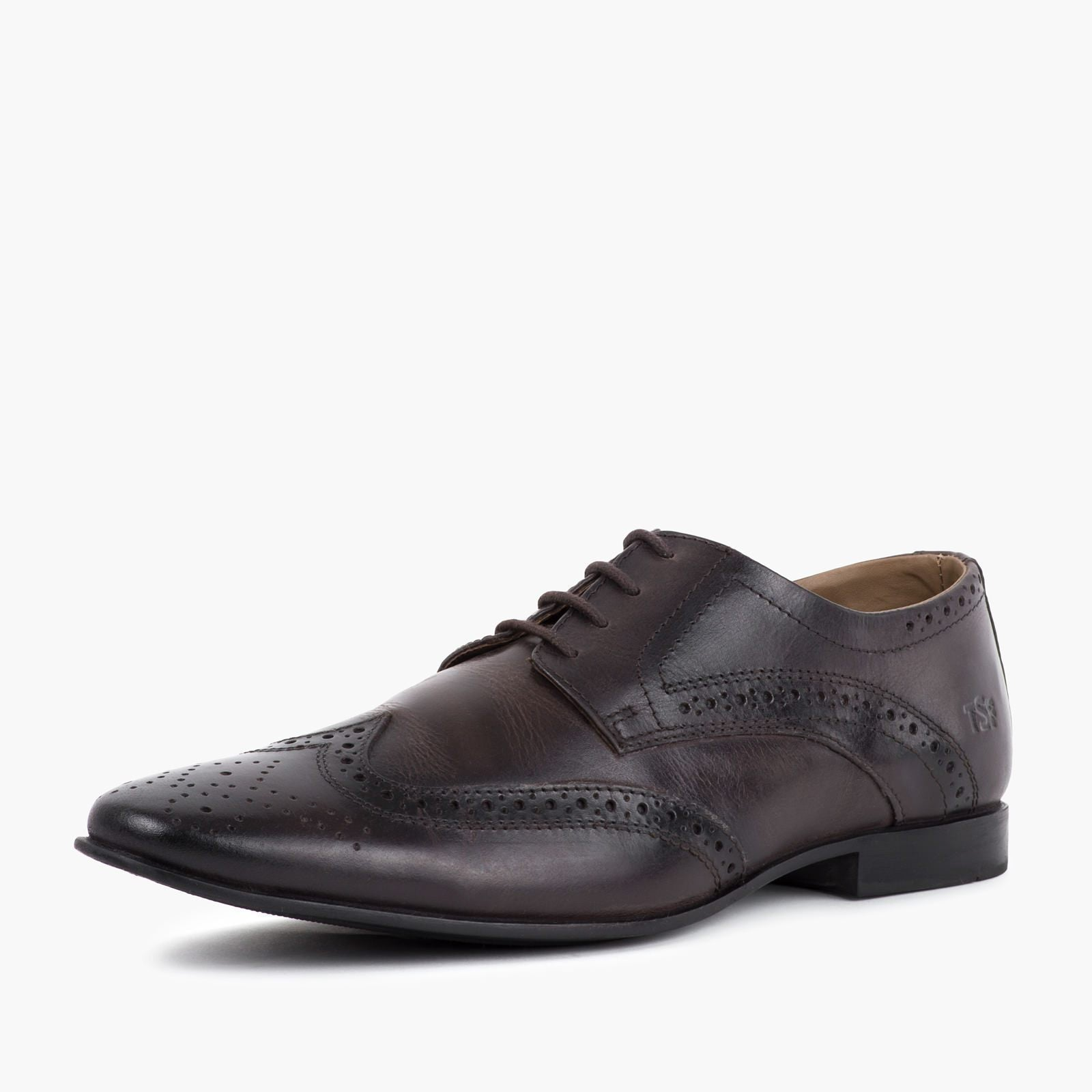 Redfoot Shoes Footwear UK 6 / EURO 39 / US 7 / Brown / Leather MENS DERBY BROGUE BROWN