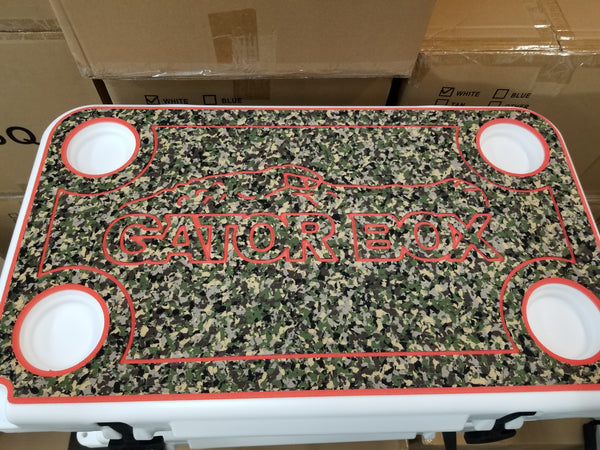 Non skid, protective cooler pad for 45qt Gator Box