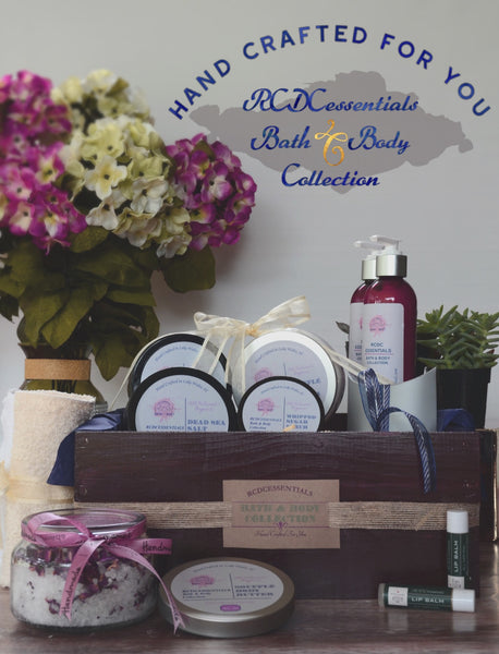 RCDCessentials' Bath & Body Collection Is now Live!