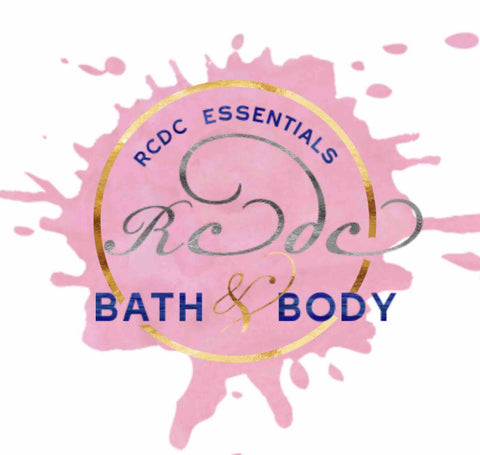 Rcdcessentials Bath & Body Collection lotions Body butter whipped and raw sugar scrub dead sea salt scrubs bath fizzy lip balm