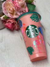 Flamingo Stand Tall Darling ~ Personalized Custom Design Reusable Starbucks Cup