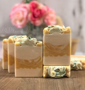 Moroccan Lemon & Mint ~ Handmade Cold Process Soap