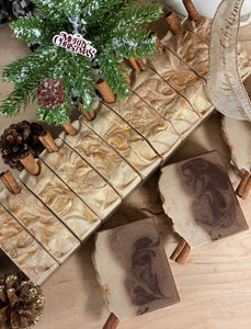 Cinnamon Cocoa ~ Handmade Cold Process Goat's Milk Bar Soap