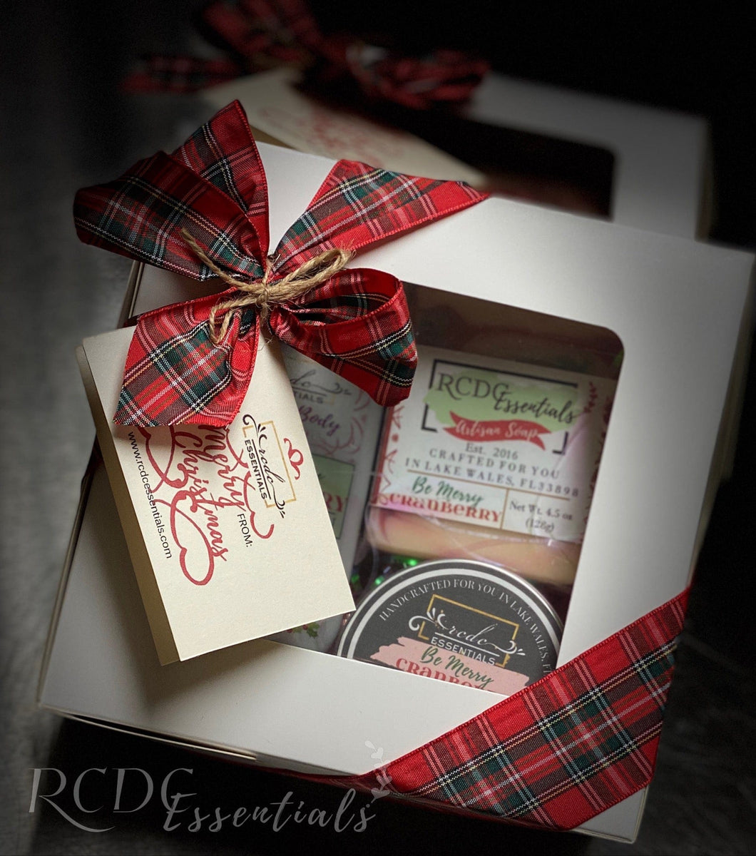 Be Merry Cranberry ~  Gift Set