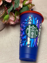 Sunflower Butterfly ~ Personalized Custom Design Reusable Starbucks Cup