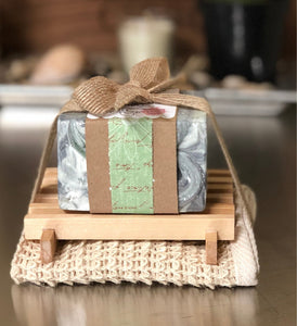 Activated Charcoal & Zeolite Clay Spa Soap  Gift Set