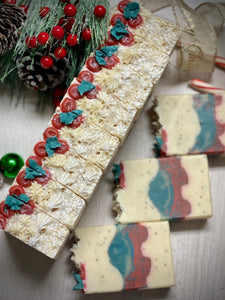Bayberry & Poppy ~ Handmade Cold Process Goat's Milk Bar Soap
