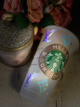 Designer Inspired  ~ Reusable Custom Starbucks Cup