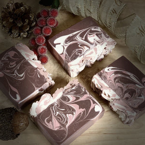 Black Currant ~ Handmade Cold Process Goat's Milk Bar Soap