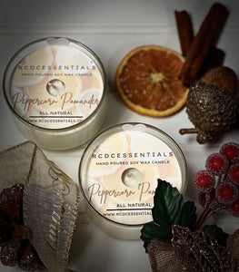 Peppercorn Pomander ~ Natural Hand Poured Soy Candle
