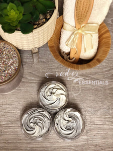 Revitalizing Face Whipped Soap ~ Green Tea Extract & French Green Clay
