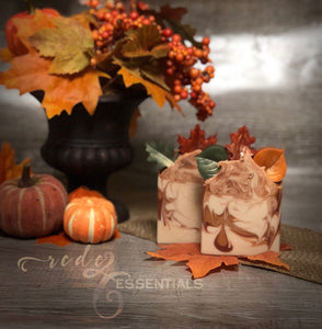 Fall Leaves ~ Cold Process Soap