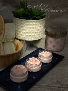 Radiance Whipped Face Soap ~Evening Primrose, Lotus Flower & Rose Clay