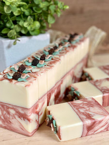 Rose Hip Tea ~ Handmade Cold Process Goat's Milk Bar Soap