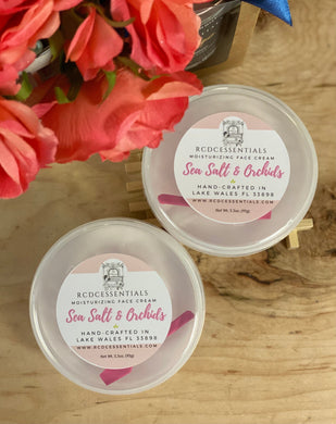Sea Salt & Orchids ~ Moisturizing Face Cream