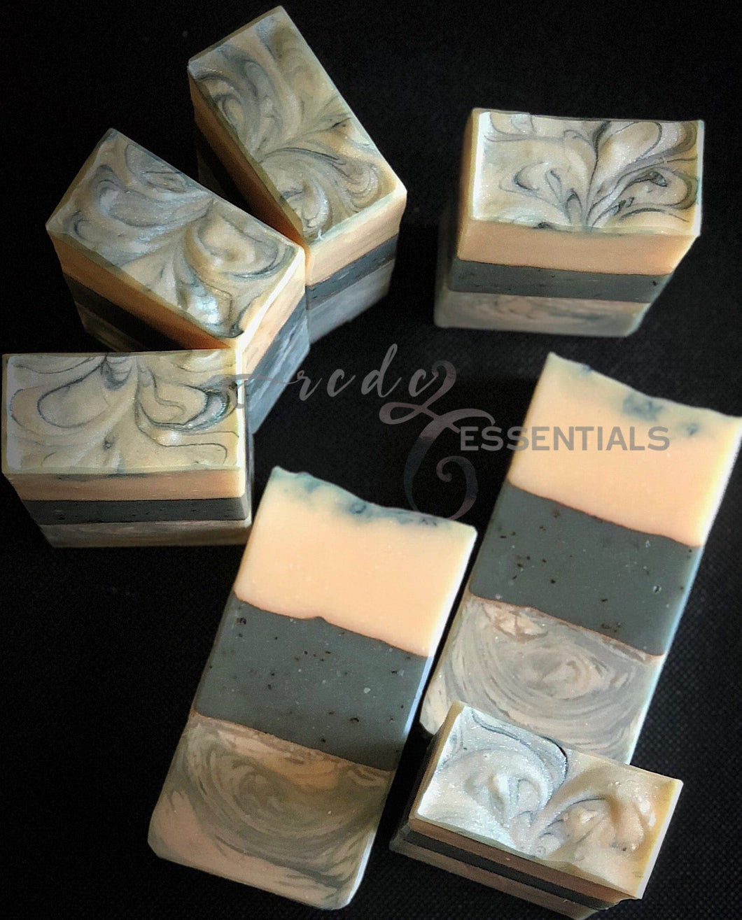 Green Tea Fiesta~ Gluten Free Cold Process Soap
