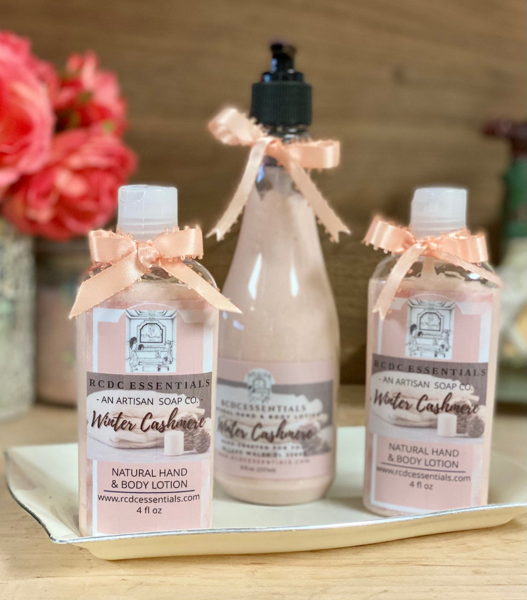 Winter Cashmere ~ Luxury Hand & Body Lotion