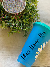 Summer Vibes Sunflower ~ Custom Reusable Color Changing Cup