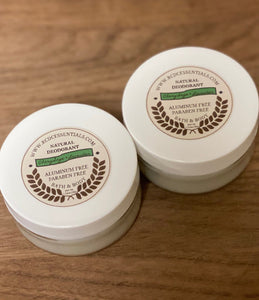 Natural Deodorant~ Clary Sage & Lavender
