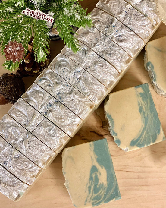 Alpine Frost ~ Handmade Cold Process Goat's Milk Bar Soap