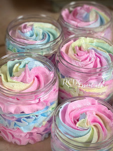 Cotton Candy ~ Whipped Soap Sugar Scrub