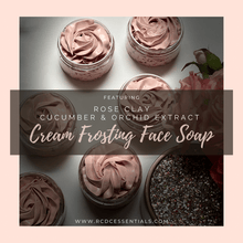 Orchid & Cucumber ~ Cream Frosting Face Soap