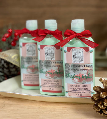 Christmas Wishes ~ Luxury Hand & Body Lotion