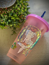 Mermaid Queen~ Custom Reusable Color Changing Cup