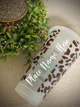 Hello Gorgeous Cheetah  ~ Personalized Custom Reusable Starbucks Cup