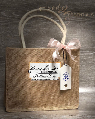 FREE Jute Burlap Tote/$35. purchase