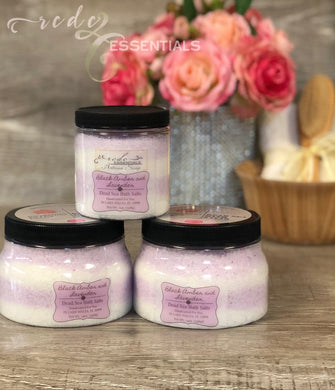 Dead Sea Bath Salts ~ Black Amber & Lavender