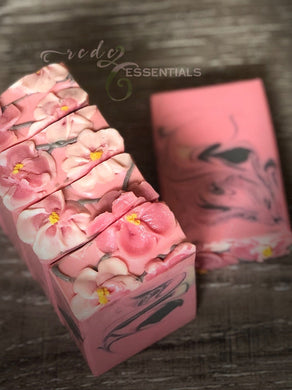 Pink Dogwood Blossom ~ Cold Process Soap