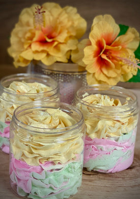 Tropic Like It's Hot~ Whipped Soap Sugar Scrub