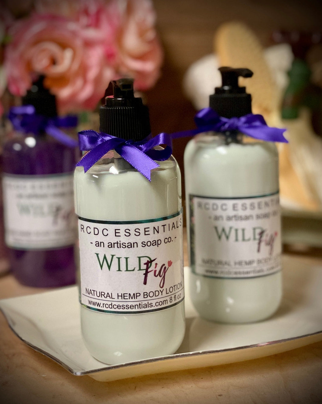 Wild Fig ~ Luxury Hemp Seed Oil Body Lotion
