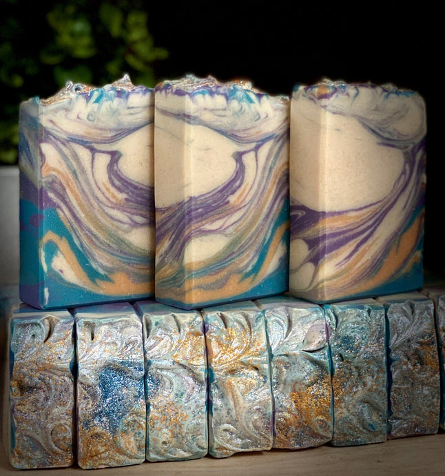 Siren Of The Sea ~  Handmade Cold Process Soap