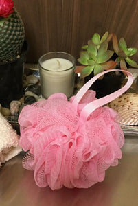 Light Pink Bath Sponge