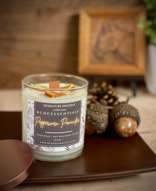 Peppercorn Pomander~ Natural Hand Poured Soy Candle