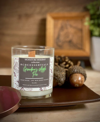 Grandma's Apple Pie ~ Natural Hand Poured Soy Candle