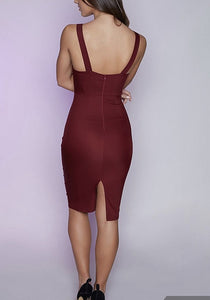 Caitlyn Spaghetti Strap Cocktail Dress