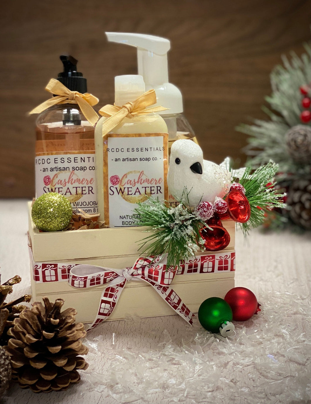 Cashmere Sweater ~ Holiday Gift Set