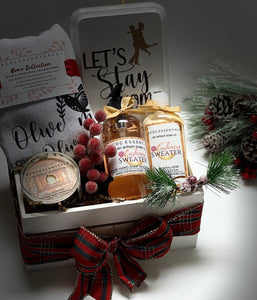 Let's Stay Home ~ Holiday Gift Set