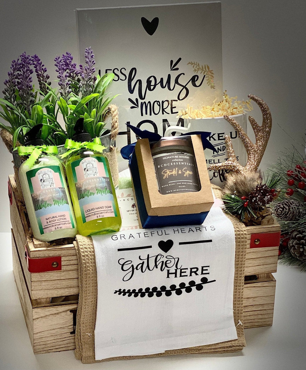 Grateful Hearts ~ Holiday Gift Set