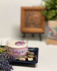 Lady Lola ~ Natural Hand Poured Soy Candle (Med. Glass Jar)