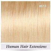 Brazilian Virgin Human Hair Extensions, 8pcs 100g Clip In