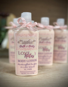 Love Notes ~Body Lotion